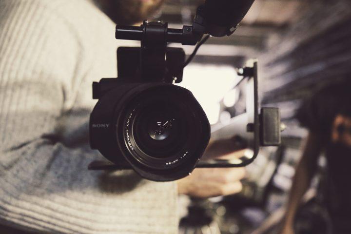 réalisation film avec caméra sony pour